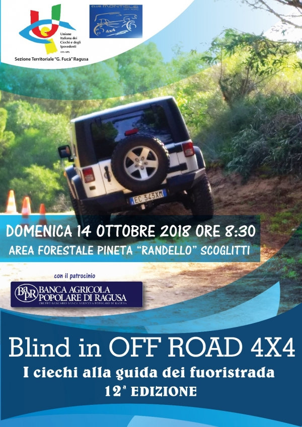 Locandina di Blind in OFF ROAD 4X4